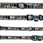 Sifra: 15969 Silver camou, ogrlica (m-l), 35-55cm/20mm