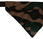 Šifra: 30875 Canvas necki camouflage ogrlica, (s-m) 30-38cm/20 mm