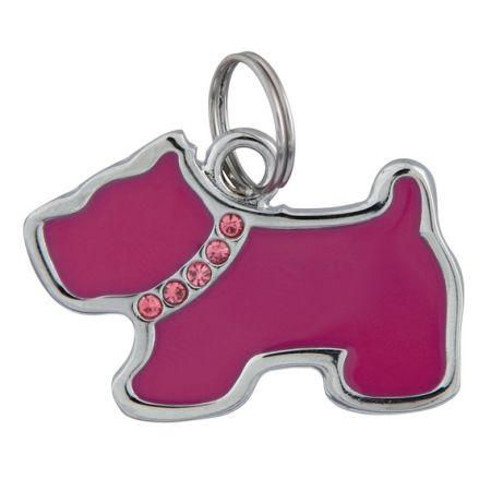 Sifra: 22761 Fancy privezak. u obliku psa. 35x25mm
