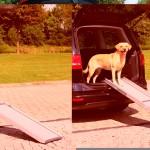 NOVO Sifra: 3940 Rampa za ulazak u vozilo 43x100-180cm,5.8kg,siva
