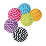 Šifra: 4570 54 spiralne loptice obmotane kanapom 4.5cm