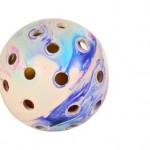 Šifra: 3332 Lopta u rupicastoj lopti, prirodna guma, fi 7,5 cm