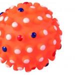 Šifra: 3428 Jezasta lopta, veliki pipci, vinil, fi 6,5 cm
