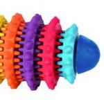 Šifra: 33132 Dentafun ragbi lopta, prirodna guma, 15 cm