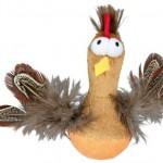 NOVO Šifra: 45787 Bobo kokoška sa perjem i zvukom. 10cm