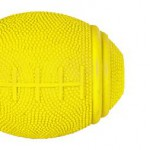 Šifra: 3324 Ragbi, lopta za poslastice,prirodna guma, 10 cm