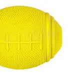 Šifra: 3323 Ragbi, lopta za poslastice,prirodna guma, 8 cm