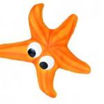 Šifra: 3516 Morska zvezda, latex,23 cm