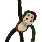 Šifra: 3610 4 plisana majmuna, 43 cm