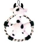 Šifra: 35842 Doggy disk, krava u obrucu, 20 cm