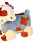 Šifra: 35844 Krava plisana, 18 cm