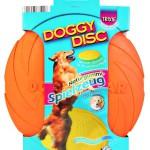 "Šifra: 33501 Frizbi ""doggy disc"", prirodna guma, plutajuci, 18cm"