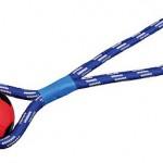 NOVO Šifra: 33491 Fudbalska lopta na užetu, guma, 8cm/35cm