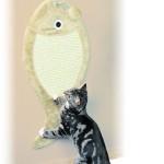 """Šifra: 43111 Grebalica """"riba"""", 33 x 68 cm, bez"""