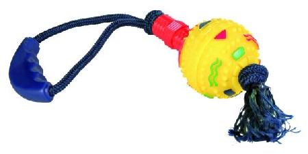 Šifra: 3248 Geo-lopta stap za grizenje na konopcu, 47cm