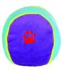 Šifra: 3606 12 loptica, plisanih, sarene, 10 cm