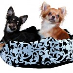 "Šifra: 37731 Jastuk za pse ""jules"", 50 x 35 cm, crno-sivi"