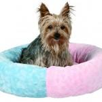 "Šifra: 3682 Krevet za pse ""dooley"", 50 cm,plavo - rozi"