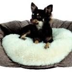 """Šifra: 37051 Krevet za pse """"yuma"""", ovalni, 55 x 50 cm, braon/beli"""