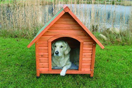"Šifra: 39531 Kucica za pse, ""natura"" vel. m, 88x76x82 cm"