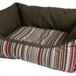 """Šifra: 36662 Krevet za pse """"adriano"""", 67 x 52 x 20 cm, crveno/braon"""