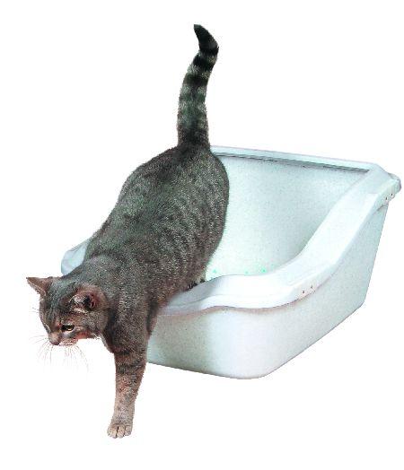 """Šifra: 40371 """"cleany cat"""" maciji toalet sa okvirom,granit 45,5x54x21cm"""