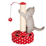 NOVO Šifra: 4292 Stub grebalica, pliš, 45cm, crveno-bela