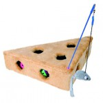 Šifra: 4505 Igracka u obliku sira, sa stapom i 3 loptice