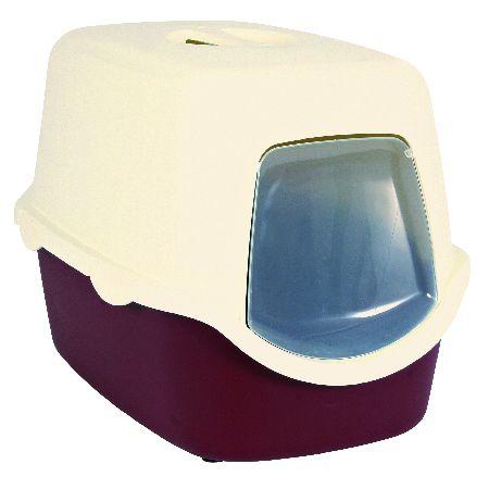 Šifra: 40273 Maciji toalet vico, sa vratima, bordo/krem
