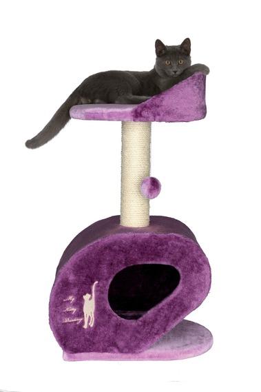 Šifra: 44841 My kitty darling grebalica. 76cm. ljubičasto/purpurna