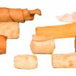 Šifra: 3123 Dentafun nugget-mix, poslastice za glodanje 125 g