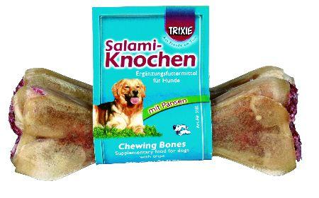 Šifra: 3182 2 kosti za glodanje, punjene salamom, 70 g / 12cm