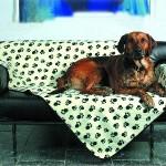 "Šifra: 37173 Cebe ""doggy"", crno-krem sa sapama, 150x100cm"