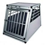 Šifra: 39351 Transportni kavez za pse, 90 x 62 x 66 cm, aluminijum