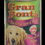 Šifra: 4187 Monge - gran bonta delizie chef komadici mesa za odrasle pse premium sa ukusom piletine i curetine
