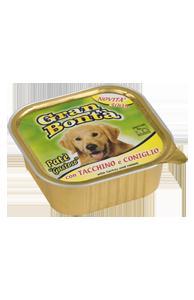 Šifra: 4146 Monge - gran bontapremium pasteta mesna pasteta za odrasle pse premium sa ukusom curetine i zecetine