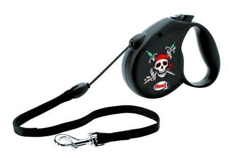 "Šifra: 21465 Flexi rock star ""pirate forever"", crni"