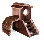 Šifra: 6113 Dvorac za igru, drvo 17.3x10.7x14.4cm