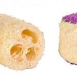 Šifra: 6191 Jestiv luffa set, lopta+rolna za male ivot.,4 cm