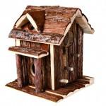 """Šifra: 61701 """"ronja"""" kucica za hrcke, prirodno drvo, 14 x 17 x 14 cm"""
