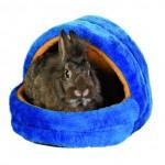 Šifra: 6296 Kucica za male zivotinje, 29x25x25 cm,plis,plava