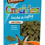"Šifra: 60422 Happy treats ""crockies"", posl. sa ovasom za glodare 100 g"
