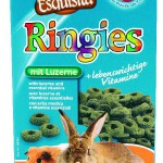 "Šifra: 60424 Happy treats ""ringies"", posl. sa detelinom, za glodare 100 g"