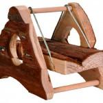 Šifra: 6087 Drvena ljujaska za hrcka, 12.5 x9.5 x 9 cm