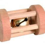 Šifra: 6183 Drvene rolna za igranje, za male zivotinje, 3.5 cm x 5 cm