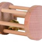 Šifra: 6184 Drvene rolna za igranje, za male zivotinje, 5 cm x 7 cm