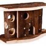 "Šifra: 61646 ""jytte"" kucica za hrcka, prirodno drvo, 28 17 12 cm"