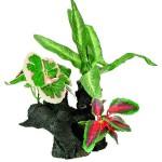 Šifra: 8940 6 balvana sa svilenim biljkama, mala