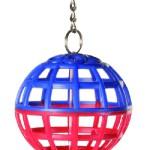 Šifra: 5250 Zicana lopta sa lancem i zvonom, 4.5 cm