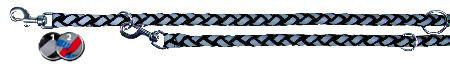 Šifra: 13581 Reflekt.radni povodac s-m, 2m/12mm, crni